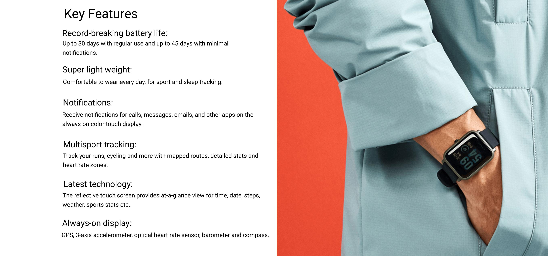 Xiao Mi Amazfit Bip Mi Online Store Malaysia Switch Concept